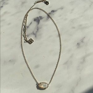 Ivory mother of pearl Kendra Scott necklace